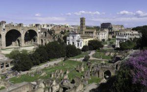 Roma e il Colosseo