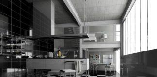 21 secolo Anna Avallone La'rredo ideale: il black and white