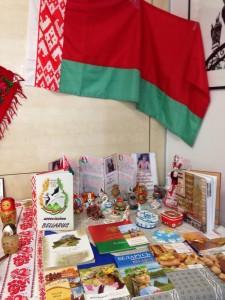 Spazio dedicato alla Bielorussia in occasione della Festa dell'Unità nazionale Russa tenutasi lo scorso 5 novembre presso la 'Sala Nugnes' del Consiglio comunale di Napoli