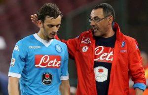 Sarri e Gabbiadini, Fonte foto: www.vocedinapoli.it