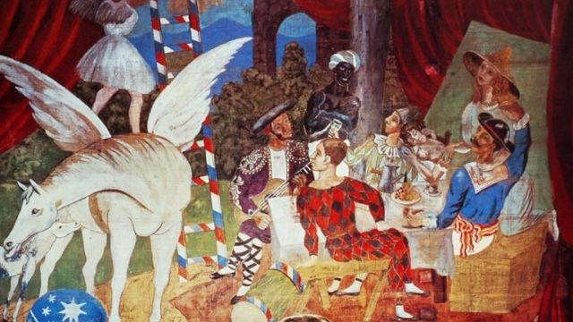 Parade di Pablo Picasso