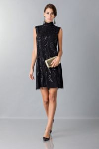 Mini dress con paillettes