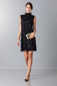 Mini dress con paillettes