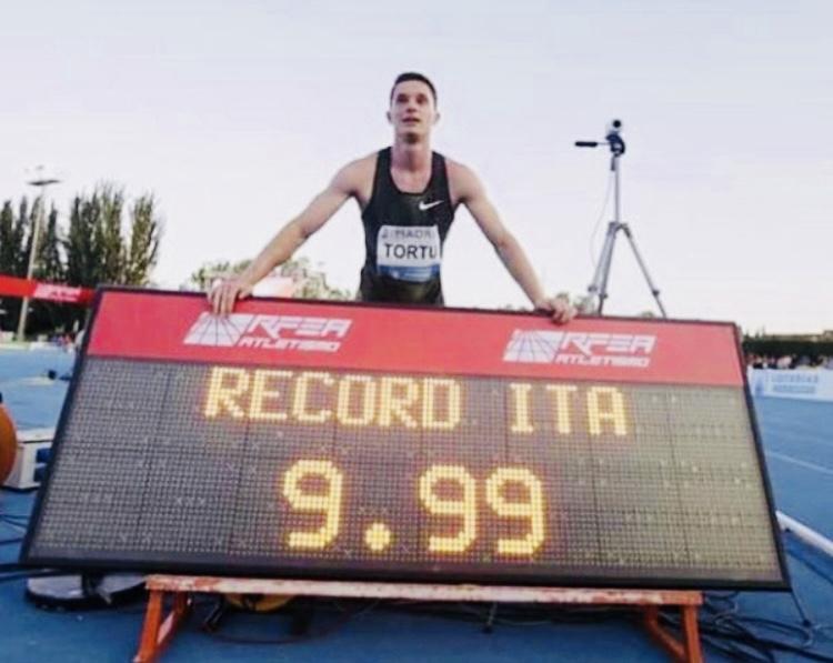 Atletica, record italiano grazie a Filippo Tortu_21secolo_Maria Saviano