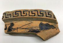 Paestum, ritrovato frammento di vaso ateniese_21secolo_Lorena Campovisano