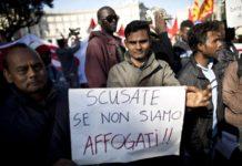 Napoli, migranti in rivolta in piazza Plebiscito_21secolo_Lorena Campovisano