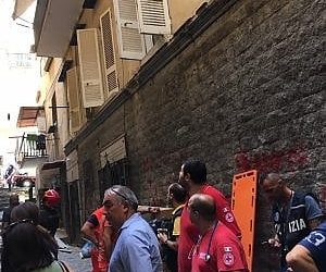 Esplosione ai Quartieri spagnoli, morta una donna_21secolo_Gerardina Di Massa