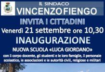 Istituto Luca Giordano, locandina inaugurazione _21secolo_emanuelemarino
