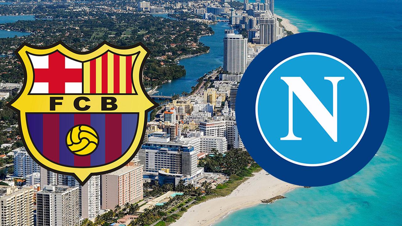 Disfatta Azzurra in America il Barcellona batte il Napoli 4