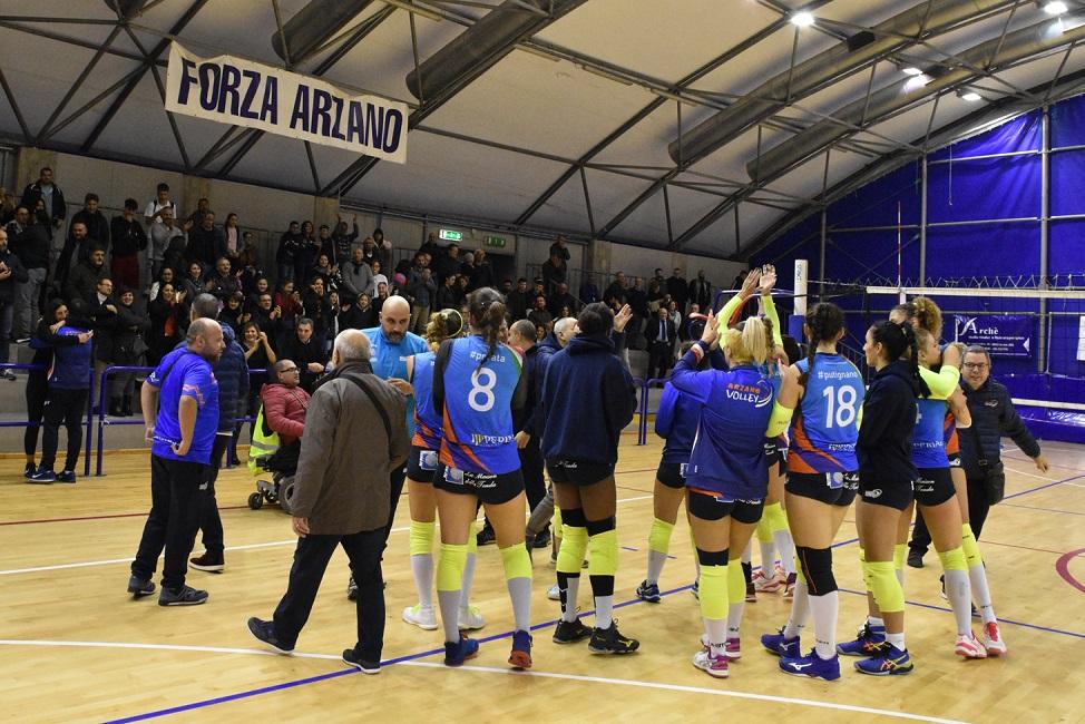Arzano, serie B1 pallavolo femminile