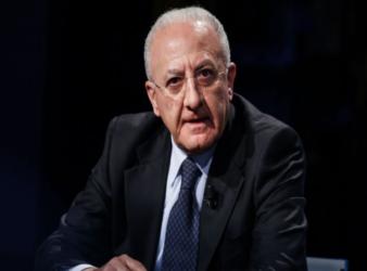 Vincenzo De Luca, nuovo piano economico per la Campania