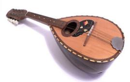 mandolino, strumento della tradizione napoletana