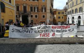 LAeS manifestazione Roma