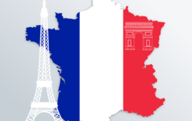 Andamento Covid-19 tragicamente in crescita in Francia
