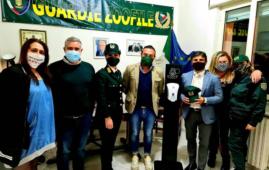 Onorevole Di Fenza: donazione al nucleo guardie zoofile