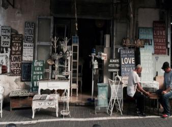 negozio vintage
