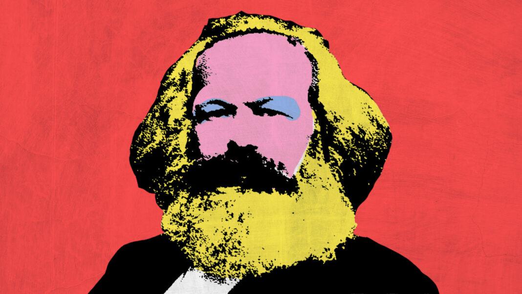 Karl Marx by Andy Warhol